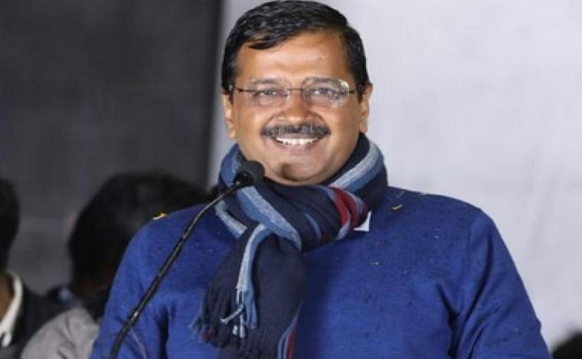 शपथ ग्रहण से पहले अरविंद केजरीवाल का दिल्ली की जनता सेअपील