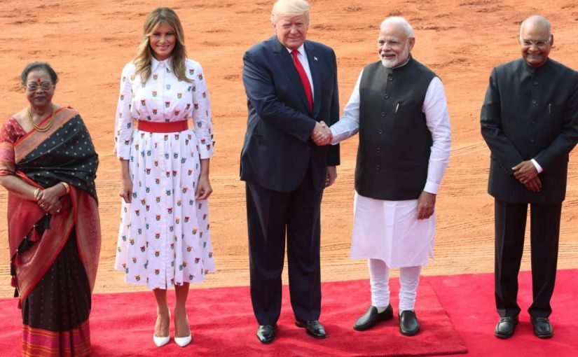 कई मायनों में खास रहा 'डोनाल्ड ट्रंप' का भारतदौरा