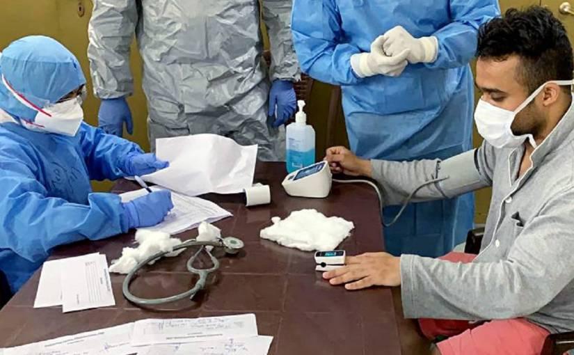भारत में मिले कोरोना वायरस के दोमरीज