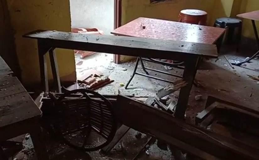 पटना में बम धमाका, 5 लोगजख्मी